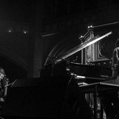 At the Union Chapel (London) with Peter Broderick.