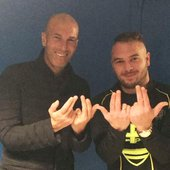 Jul et Zinedine Zidane