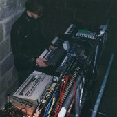 Setting up at the partyhole Brückenkopf in 1991 or 1992 !