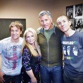 Nov 2012 The Original Four - Gord, Sandy, Derrick and Rob