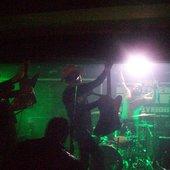 Black Chrome at Deathpunkfest 2008, Basement Bar, New Plymouth