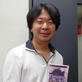 Meguro showing Persona 1 for PSP