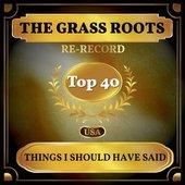 Things I Should Have Said (Billboard Hot 100 - No 23)