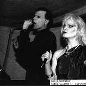 Radio Werewolf's fourth and final incarnation: Nikolas and Zeena in Glasnost magazine, 1991.