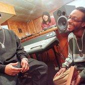 Slum Village in Jay Dee's Studio