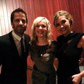 "Zack Snyder, Allison Crowe, Deborah Snyder at \""Man of Steel\"" World Premiere"