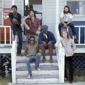 Bruce Springsteen & the E Street band, 1973.