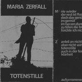 Maria Zerfall - Totenstille, der rest ist fluch - 1991 - cover cassette