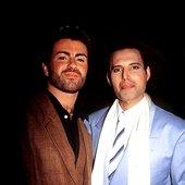 George Michael & Freddy Mercury