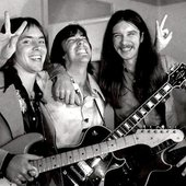 Ronnie Montrose, Boz Scaggs and Les Dudek in Berkeley California