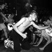 Jules and the CBGB's Shutdown show crowd, Photo: Jennifer Buck Knies