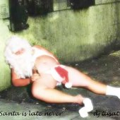 Santa is late never
