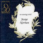 Recitals: An Evening with Jessye Norman