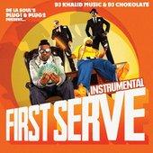 FIRST SERVE (Instrumental version)