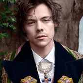 Harry Styles for Gucci Tailoring Campaign 2019