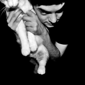 Muhly and cat
