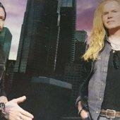Ronnie Romero y Adriaan Van Den Berg