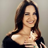 Lana can smile sometimes