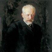 Portrait of Pyotr Ilyich Tchaikovsky