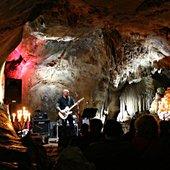 SteveVonTill at Dechenhöhle, January 2010