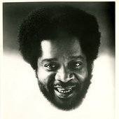 Donald Byrd floating head promo photo, Blue Note Records, 1975.