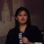 Sarah as Olivia