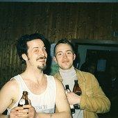 Lina & Jonas at Heavy Electronics, Germany 1993.jpg
