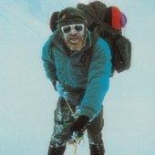 Brian climbing Everest