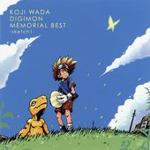 KOJI WADA DIGIMON MEMORIAL BEST -sketch1-
