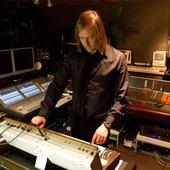 Benge in the studio