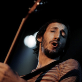 Pete Townshend performing live onstage | October 24, 1975