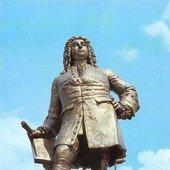 Handeldenkmal Halle Saale, Georg Friedrich Handel Statue Monument.jpg