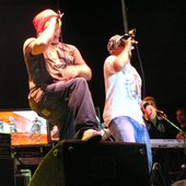 Fozzey & Fahot on the stage