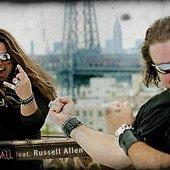 Thiago Bianchi e Russell Allen