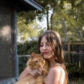molly + cat
