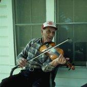 Cajun fiddler Dennis McGee, Louisiana.jpg