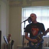 In the old home studio in Richmond, VA