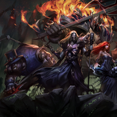 Pentakill Official - PNG Version for Library