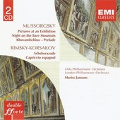 Mussorgsky:Pictures at an Exhibition etc/Rimsky-Korsakov:Scheherazade etc