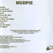 Mudpie - Back Cover