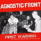 First Warning - The 'United Blood' Era Recordings, New York City, 1983