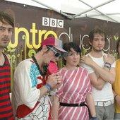 Neon Plastix at Glastonbury 2007