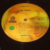 Label... Record... Toni Tornado