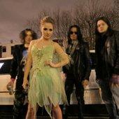 Medusa punk rock band, London UK
