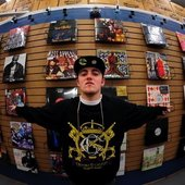 The Kid Mac Miller at Jerry's Records