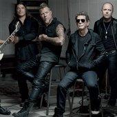 Lou Reed & Metallica for GQ magazine