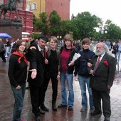 With Marx and Lenin