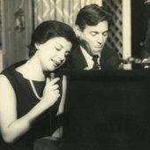 Sylvia Telles e Tom Jobim, 1959