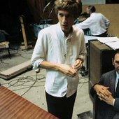 Scott Walker & producer Johnny Franz