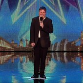 Paul Manners on Britain's Got Talent 2015.